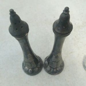 Other - 🍴Vintage pewter salt and pepper shakers